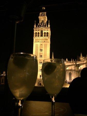 La Terraza Restaurante Panoramico de EME : Noche de verano