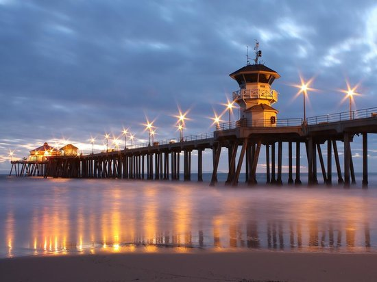 Surf City Segway Beautiful Shot Of Hb Pier