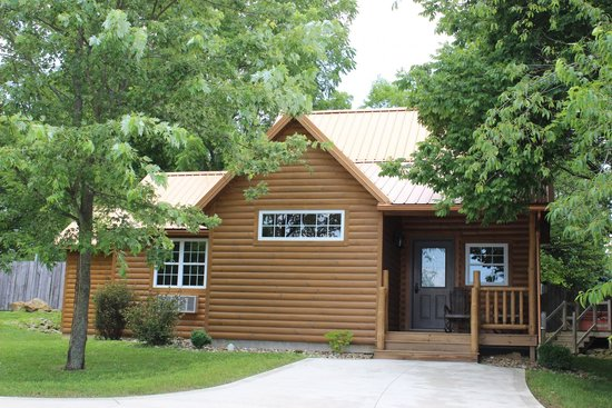 Sugar Maple 2 4 Person Log Cabin With Hot Tub Picture Of