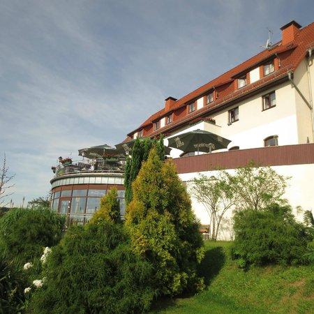 Hotel Rathener Hof: Im Abendlicht