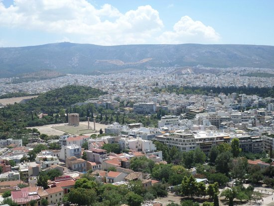 Acropole : panorama dall'Acropoli