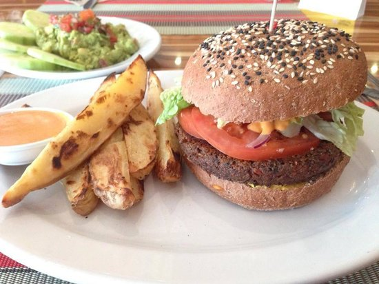 Vegan Planet: hamburguesa de quinoa