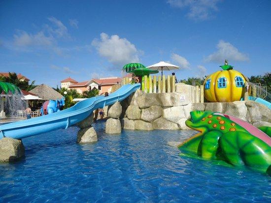 Grand Bahia Principe Turquesa: parque acuatico