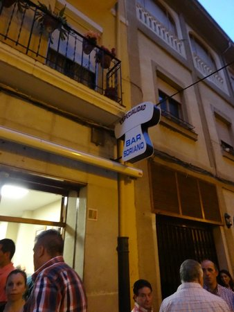 Bar Soriano: Look for the crowd under this mushroom-shaped sign!