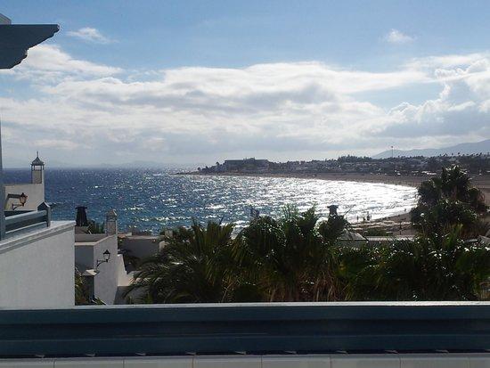 Seaside Los Jameos Playa: view from the balcony