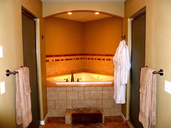 Newport, วอชิงตัน: The bathroom for the room I stayed in