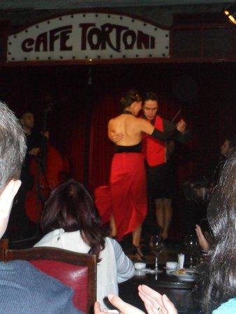Cafe Tortoni: Show de tango