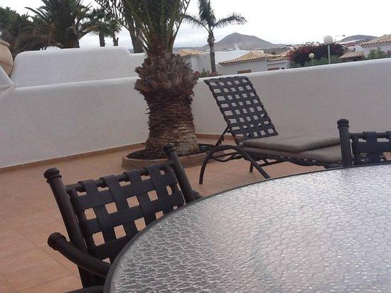 Royal Tenerife Country Club: Good quality patio
