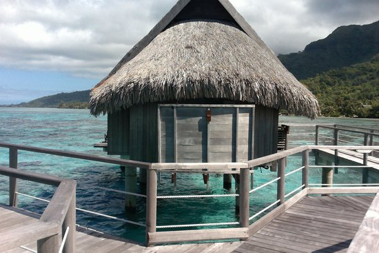 Sofitel Moorea Ia Ora Beach Resort : our bungalow #121
