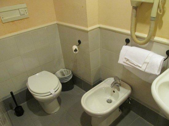 Hotel Andreotti : きれいなトイレ