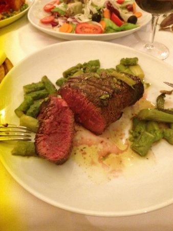 Antica Trattoria da Tito: Beef fillet only served rare