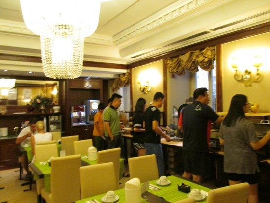 Hotel Andreotti : 朝食はここで