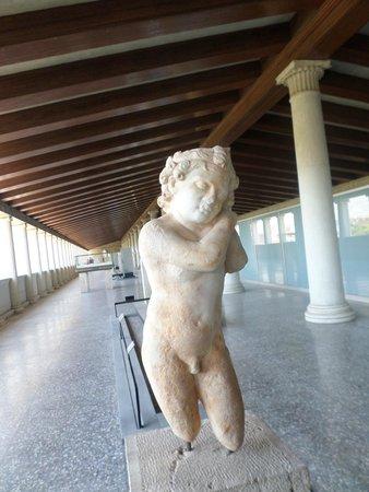 Agora: statua