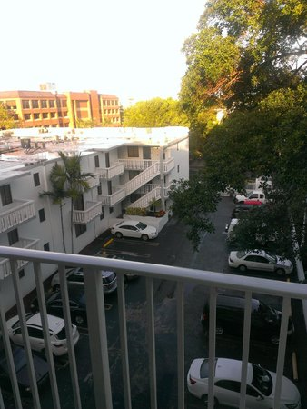 Residence Inn Miami Coconut Grove: View from the window