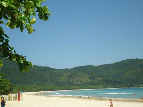 Lopes Mendes Beach: Canto Direito, próximo a saída da trilha