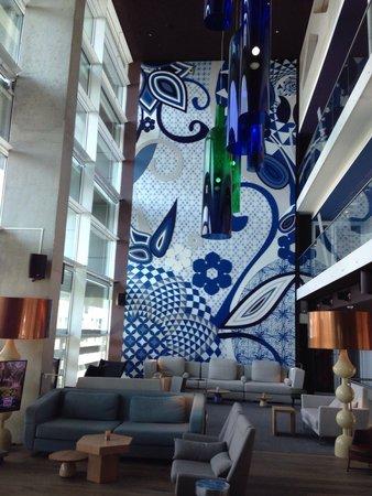 Room Mate Aitana : Inside lobby and lounge