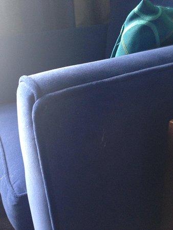 Sandman Signature Edmonton South Hotel: Soiled sitting chair
