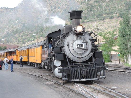Durango and Silverton Narrow Gauge Railroad and Museum : En avant toute