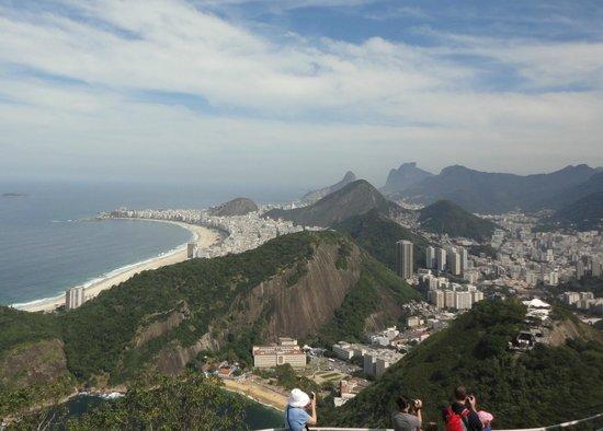 Montaña Pan de azúcar (Pão de Açúcar): A Cidade Maravilhosa vista do alto do Pão de Açucar