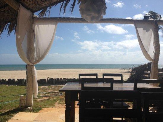 Pousada Furaifun Cumbuco: Vista no café da manhã
