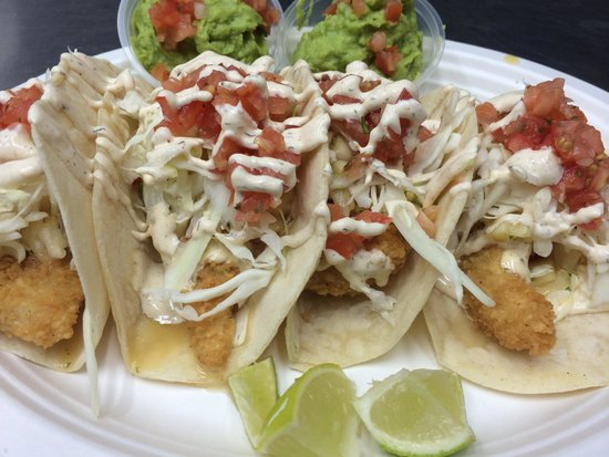 Seriously the best fish tacos in the world picture of for Best fish for fish tacos
