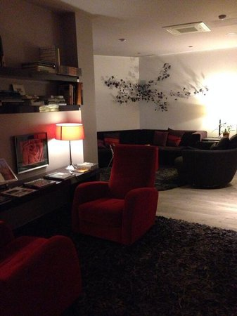 ANBA Bed&Breakfast Deluxe : Lounge/library area