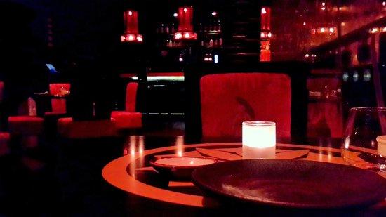 Bushido Restaurant: Bar seen