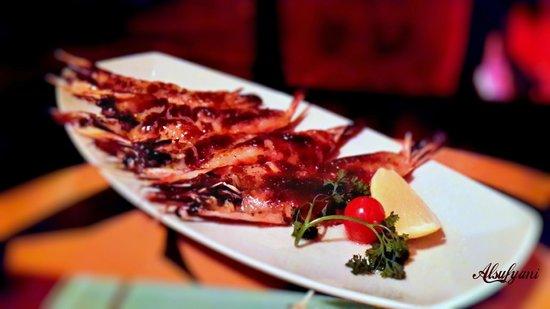Bushido Restaurant: king prawns