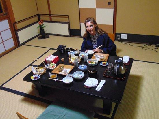 Gion Yoshi-ima : Cena giapponese nel ryokan