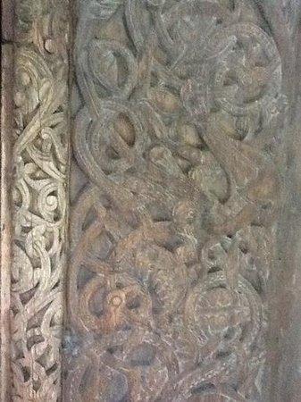 Borgund Stave Church: Carving