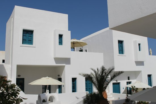 Oia's Sunset Apartments: The hotel