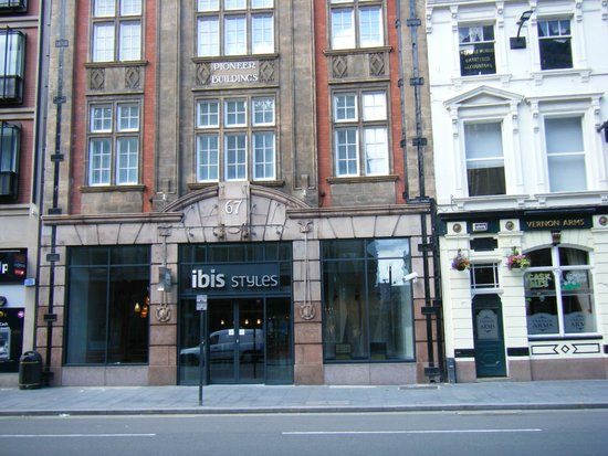 Ibis Styles Liverpool Centre Dale Street: hotel frontage