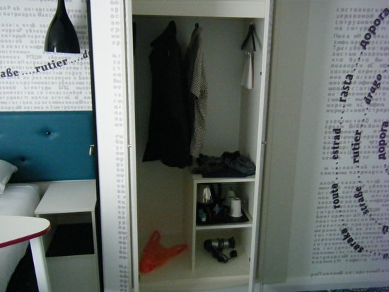 Ibis Styles Liverpool Centre Dale Street: not much storage space!