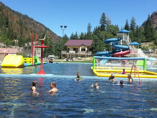 Ouray Hot Springs Pool: Fun for kids