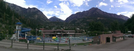 Ouray Hot Springs Pool: Beautiful Views