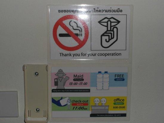 KV Mansion: alcune regole dell'albergo
