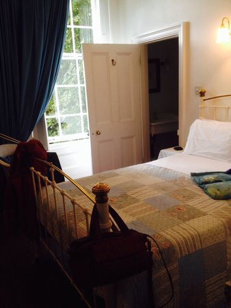 Cathedral House: Our bedroom (had private sitting room plus en suite bathroom)