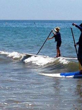 Santa Barbara Adventure Company : Ava rocks the SUP