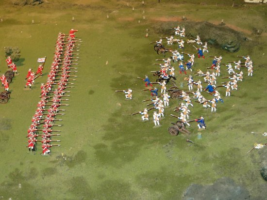 Musee du Fort: battle in miniature