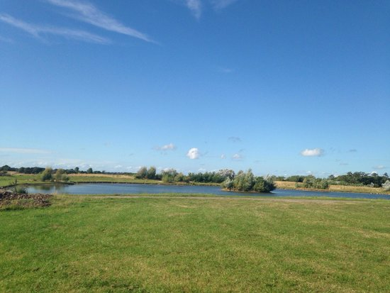 Stanley Villa Farm Camping: View from pitch