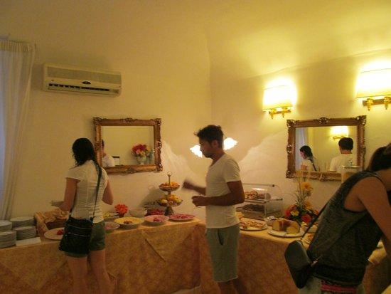 Hotel Edera : 朝食