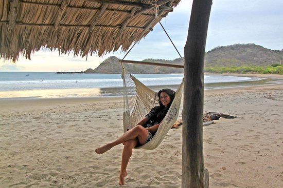 Morgan's Rock Hacienda and Ecolodge: Beach hammocks