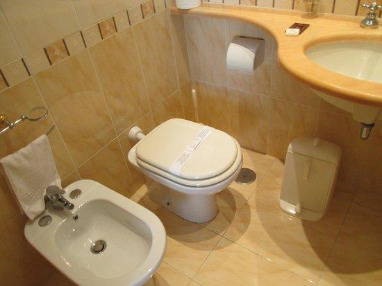 Hotel Edera : きれいなトイレ