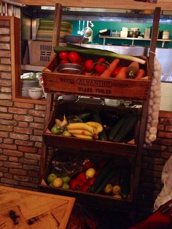 Restaurant Blij : Organic, local ingredients