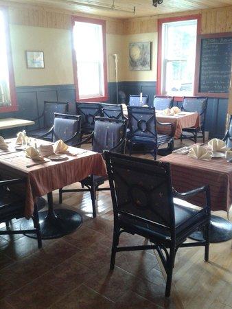Auberge le Vieux Presbytere de Bouctouche: Restaurant