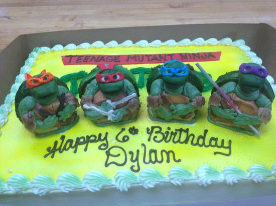 Ninja Turtle Cake - Picture of Berg's Bakery & Bistro