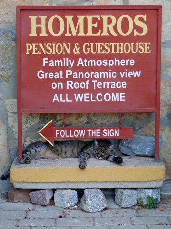 Homeros Pension & Guesthouse: C'est par ici!