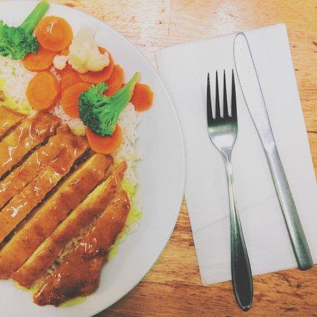 Zesty's Restaurant: lemon chicken