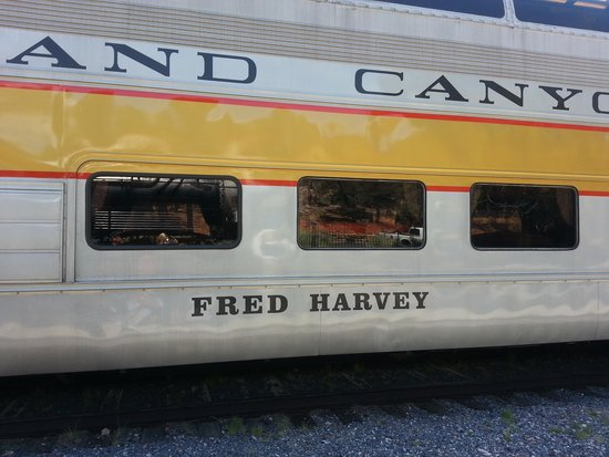 Grand Canyon Railway: Fred Harvey car