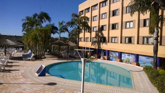 Mabu Thermas Grand Resort: Apartamentos virados para piscina
